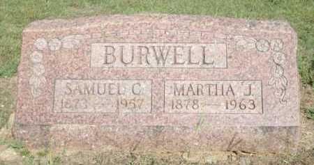 BURWELL, SAMUEL C. - Logan County, Arkansas | SAMUEL C. BURWELL - Arkansas Gravestone Photos
