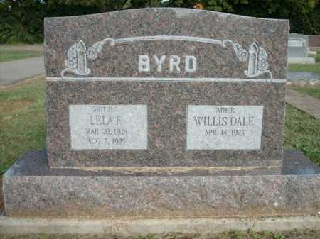 BYRD, LELA F. - Logan County, Arkansas | LELA F. BYRD - Arkansas Gravestone Photos