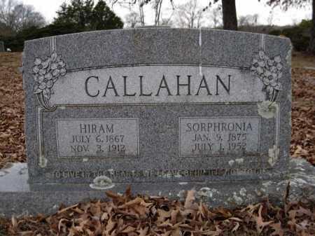 CALLAHAN, SORPHRONIA - Logan County, Arkansas | SORPHRONIA CALLAHAN - Arkansas Gravestone Photos