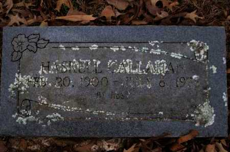 CALLAHAN, HASKELL - Logan County, Arkansas   HASKELL CALLAHAN - Arkansas Gravestone Photos