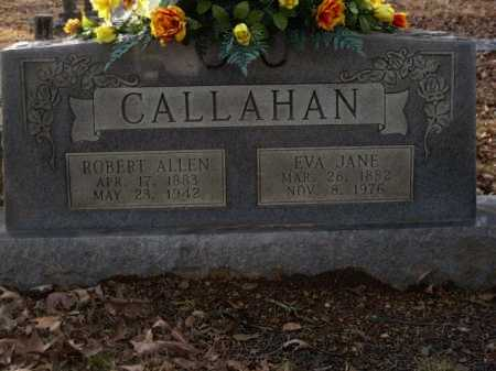 CALLAHAN, EVA JANE - Logan County, Arkansas | EVA JANE CALLAHAN - Arkansas Gravestone Photos