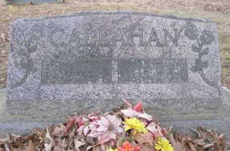 CALLAHAN, VANCE - Logan County, Arkansas   VANCE CALLAHAN - Arkansas Gravestone Photos