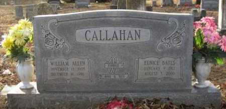 CALLAHAN, WILLIAM ALLEN - Logan County, Arkansas | WILLIAM ALLEN CALLAHAN - Arkansas Gravestone Photos