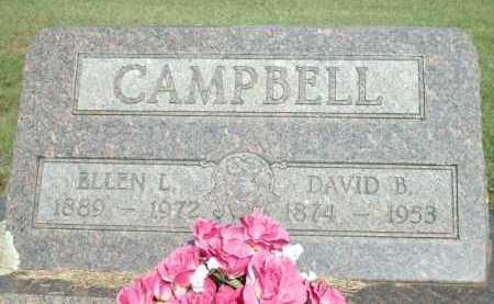 CAMPBELL, ELLEN L. - Logan County, Arkansas   ELLEN L. CAMPBELL - Arkansas Gravestone Photos