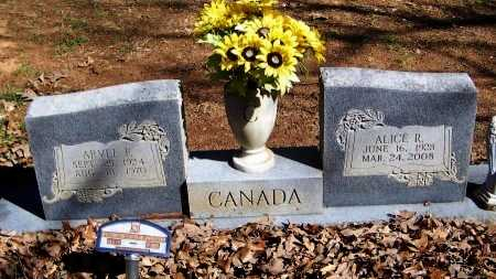 CANADA, ARVEL FAY - Logan County, Arkansas   ARVEL FAY CANADA - Arkansas Gravestone Photos