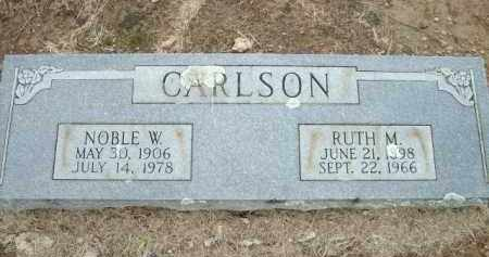 CARLSON, NOBLE W. - Logan County, Arkansas | NOBLE W. CARLSON - Arkansas Gravestone Photos