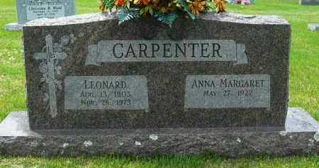 CARPENTER, LEONARD - Logan County, Arkansas | LEONARD CARPENTER - Arkansas Gravestone Photos