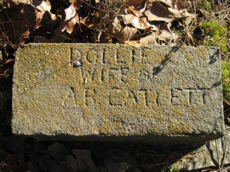 CATLETT, DOLLIE - Logan County, Arkansas | DOLLIE CATLETT - Arkansas Gravestone Photos