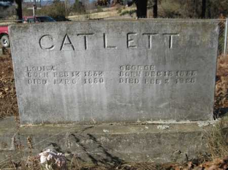 CATLETT, LOUISA - Logan County, Arkansas | LOUISA CATLETT - Arkansas Gravestone Photos
