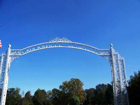 *CAULKSVILLE CEMETERY GATE,  - Logan County, Arkansas    *CAULKSVILLE CEMETERY GATE - Arkansas Gravestone Photos