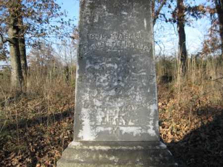 CAUTHRON, COL WALTER - Logan County, Arkansas | COL WALTER CAUTHRON - Arkansas Gravestone Photos