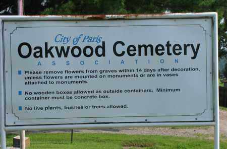 *OAKWOOD CEMETERY,  - Logan County, Arkansas |  *OAKWOOD CEMETERY - Arkansas Gravestone Photos