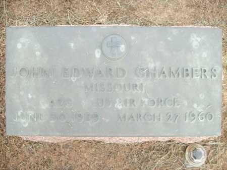CHAMBERS (VETERAN), JOHN EDWARD - Logan County, Arkansas   JOHN EDWARD CHAMBERS (VETERAN) - Arkansas Gravestone Photos
