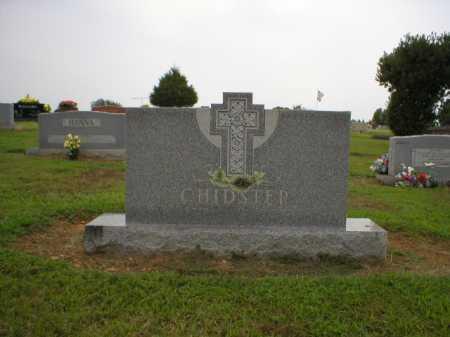 CHIDSTER, CLARA EDITH - Logan County, Arkansas | CLARA EDITH CHIDSTER - Arkansas Gravestone Photos