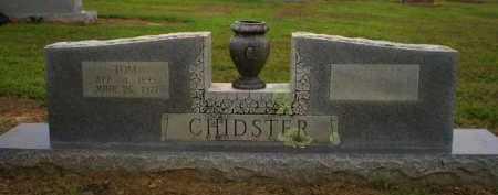 CHIDSTER (VETERAN WWI), TOM - Logan County, Arkansas | TOM CHIDSTER (VETERAN WWI) - Arkansas Gravestone Photos