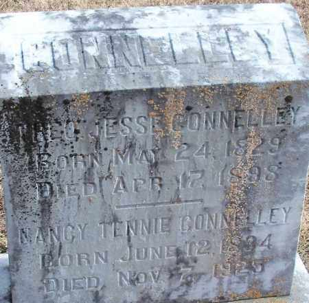 CONNELLEY, THEO. JESSIE - Logan County, Arkansas   THEO. JESSIE CONNELLEY - Arkansas Gravestone Photos