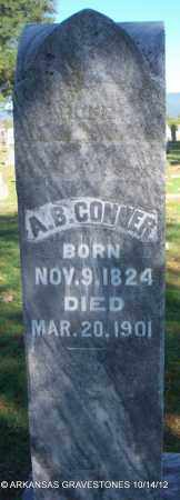 CONNER, A B - Logan County, Arkansas | A B CONNER - Arkansas Gravestone Photos