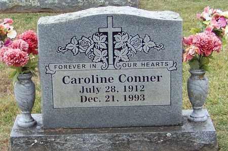 CONNER, CAROLINE - Logan County, Arkansas | CAROLINE CONNER - Arkansas Gravestone Photos