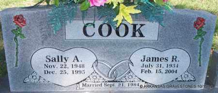 COOK, SALLY A - Logan County, Arkansas | SALLY A COOK - Arkansas Gravestone Photos