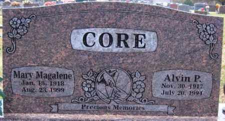 CORE, ALVIN P. - Logan County, Arkansas | ALVIN P. CORE - Arkansas Gravestone Photos