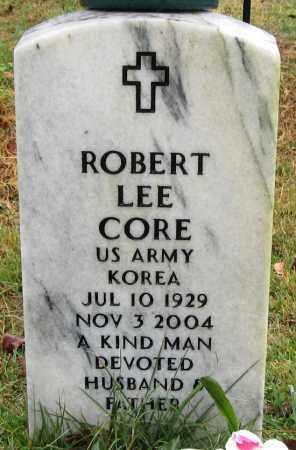 CORE (VETERAN KOR), ROBERT LEE - Logan County, Arkansas | ROBERT LEE CORE (VETERAN KOR) - Arkansas Gravestone Photos