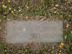 CORNETT, EARL LEE - Logan County, Arkansas | EARL LEE CORNETT - Arkansas Gravestone Photos