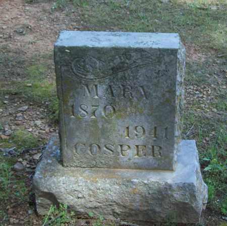 COSPER, MARY - Logan County, Arkansas | MARY COSPER - Arkansas Gravestone Photos