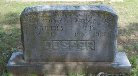 COSPER, T.D. - Logan County, Arkansas   T.D. COSPER - Arkansas Gravestone Photos