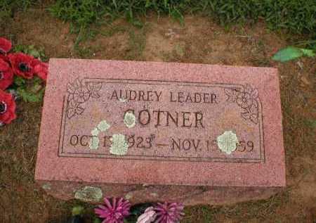 COTNER, AUDREY LEADER - Logan County, Arkansas   AUDREY LEADER COTNER - Arkansas Gravestone Photos