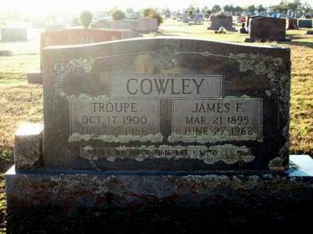 COWLEY, JAMES S. - Logan County, Arkansas | JAMES S. COWLEY - Arkansas Gravestone Photos