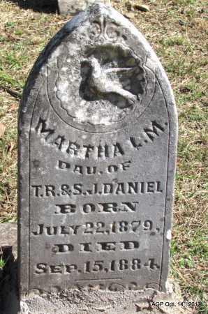 DANIEL, MARTHA L M - Logan County, Arkansas   MARTHA L M DANIEL - Arkansas Gravestone Photos