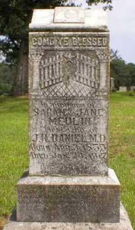MEDLIN, SARAH JANE - Logan County, Arkansas   SARAH JANE MEDLIN - Arkansas Gravestone Photos