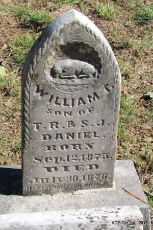 DANIEL, WILLIAM T - Logan County, Arkansas | WILLIAM T DANIEL - Arkansas Gravestone Photos