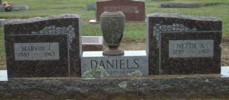 DANIELS, MARVIN J. - Logan County, Arkansas | MARVIN J. DANIELS - Arkansas Gravestone Photos