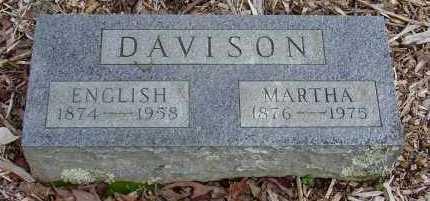 HORN DAVIDSON, MARTHA JANE - Logan County, Arkansas | MARTHA JANE HORN DAVIDSON - Arkansas Gravestone Photos
