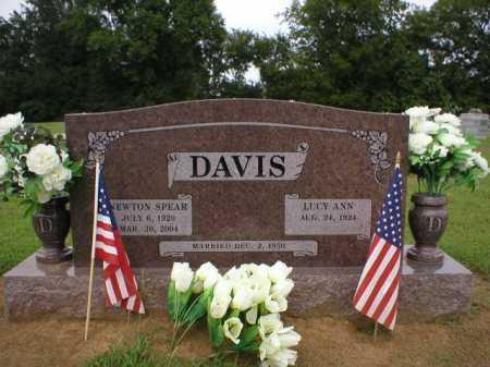 DAVIS  (VETERAN WWII), NEWTON SPEAR - Logan County, Arkansas | NEWTON SPEAR DAVIS  (VETERAN WWII) - Arkansas Gravestone Photos