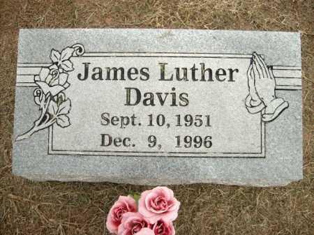 DAVIS, JAMES LUTHER - Logan County, Arkansas   JAMES LUTHER DAVIS - Arkansas Gravestone Photos