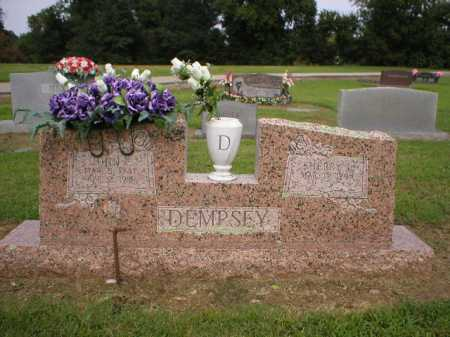 DEMPSEY, JOHN E. - Logan County, Arkansas | JOHN E. DEMPSEY - Arkansas Gravestone Photos
