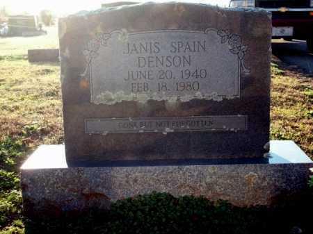 DENSON, JANIS - Logan County, Arkansas | JANIS DENSON - Arkansas Gravestone Photos