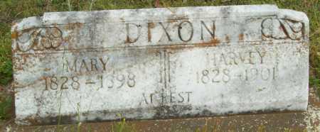DIXON, MARY - Logan County, Arkansas | MARY DIXON - Arkansas Gravestone Photos