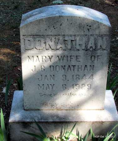 DONATHAN, MARY - Logan County, Arkansas | MARY DONATHAN - Arkansas Gravestone Photos