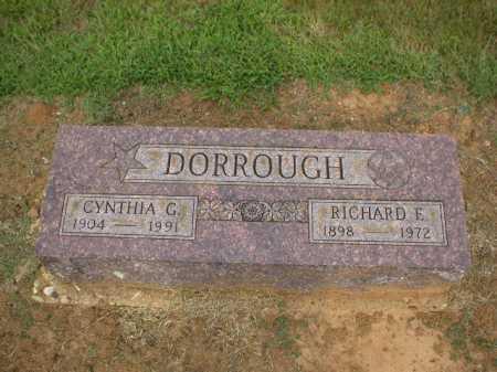 DORROUGH, CYNTHIA G. - Logan County, Arkansas | CYNTHIA G. DORROUGH - Arkansas Gravestone Photos