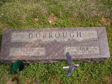 DORROUGH, BETTY - Logan County, Arkansas | BETTY DORROUGH - Arkansas Gravestone Photos