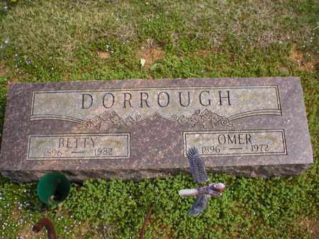 DORROUGH, OMER - Logan County, Arkansas | OMER DORROUGH - Arkansas Gravestone Photos