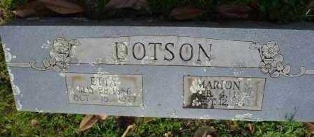 DOTSON, MARION SMITH - Logan County, Arkansas | MARION SMITH DOTSON - Arkansas Gravestone Photos