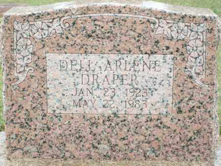 DRAPER, DELL ARLENE - Logan County, Arkansas | DELL ARLENE DRAPER - Arkansas Gravestone Photos