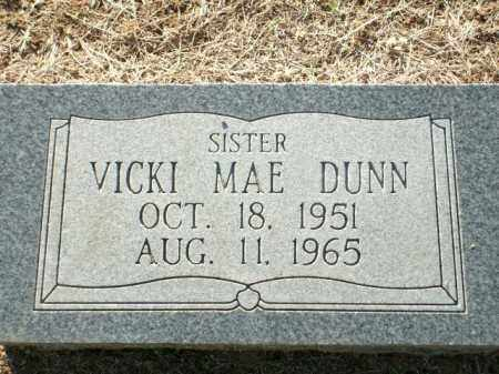 DUNN, VICKI MAE - Logan County, Arkansas   VICKI MAE DUNN - Arkansas Gravestone Photos