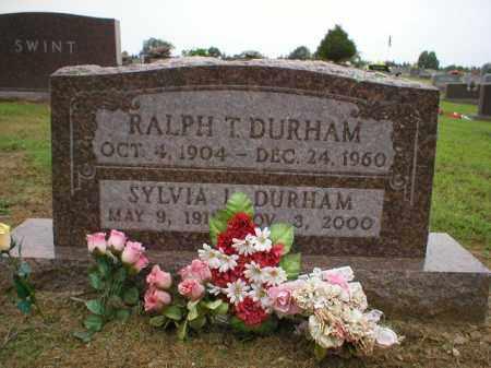 DURHAM, SYLVIA I - Logan County, Arkansas | SYLVIA I DURHAM - Arkansas Gravestone Photos