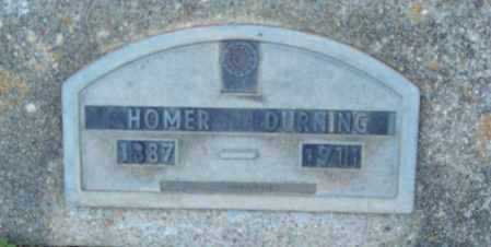 DURNING, HOMER - Logan County, Arkansas | HOMER DURNING - Arkansas Gravestone Photos