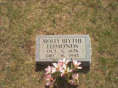 BLYTHE EDMONDS, MOLLIE - Logan County, Arkansas | MOLLIE BLYTHE EDMONDS - Arkansas Gravestone Photos